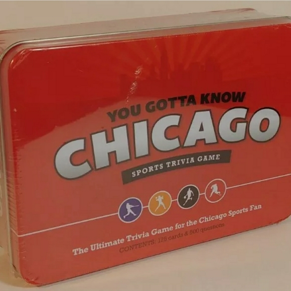Chicago Sports Trivia Game Fun Family Party 4th of